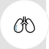 慢性閉塞性肺疾患(COPD)気管支喘息